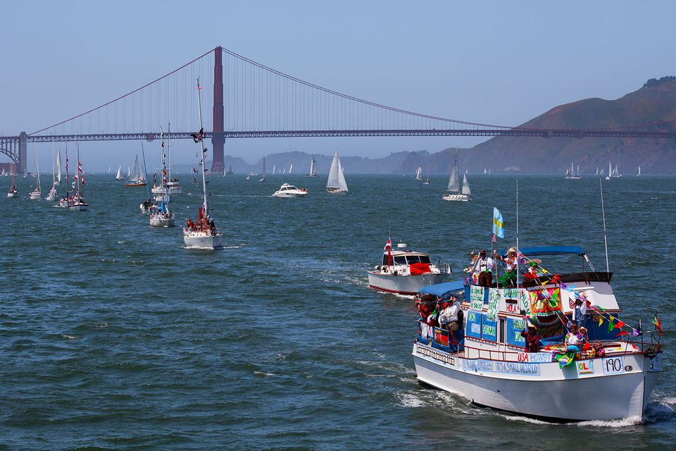 Opening Day on the Bay, San Francisco