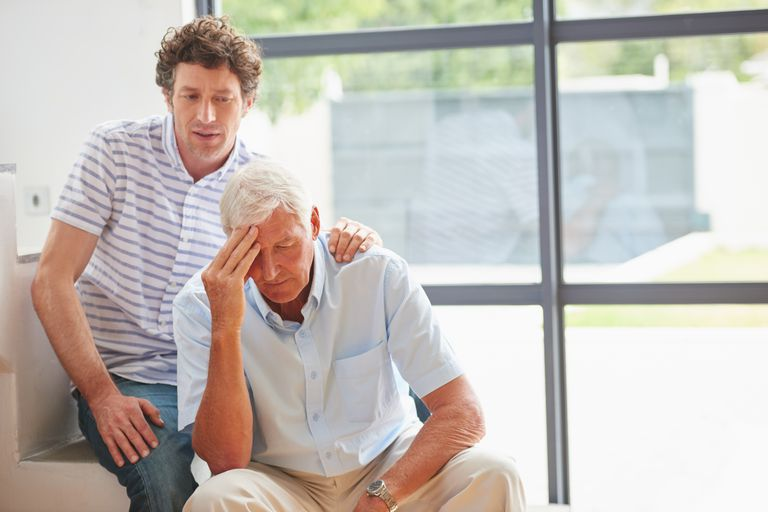 Son With Ailing Father