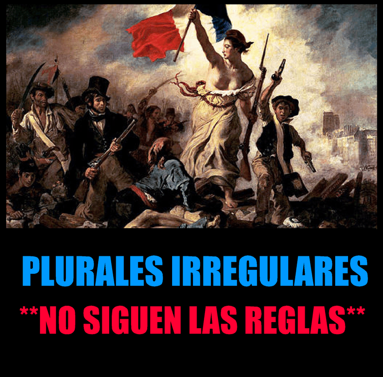 Plurales irregulares en inglés
