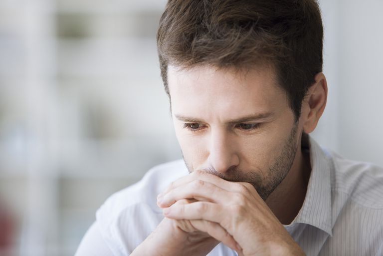 Mid adult man in thought