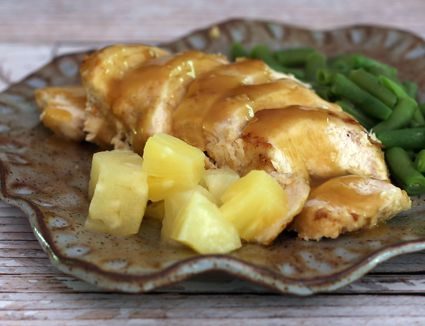 how to make baked pineapple chicken