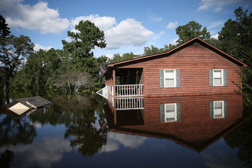 South Carolina Hit By Historic Rain And Flooding