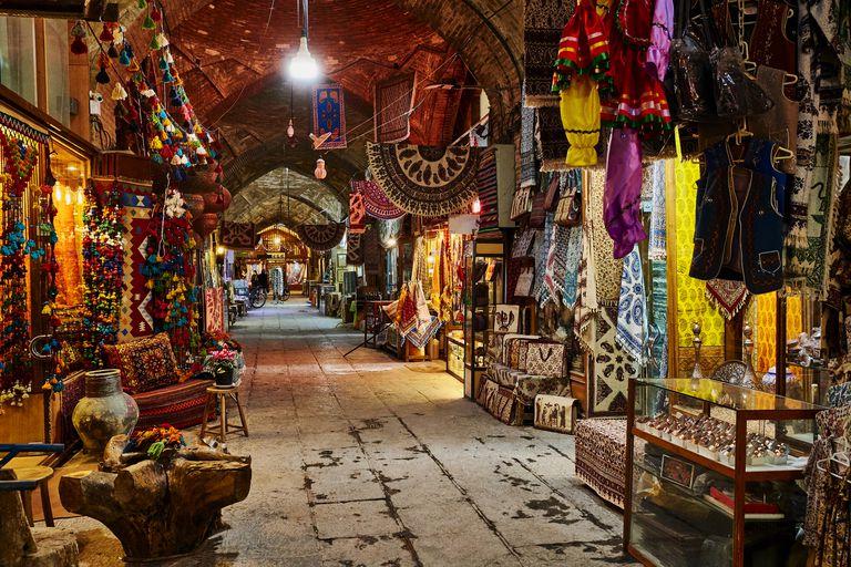 Bazar de Isfahan, Iran