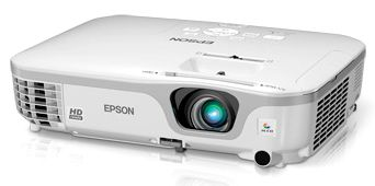 Epson PowerLite Home Cinema 710HD - Front View