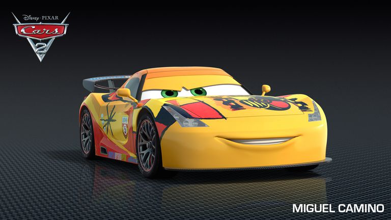 Cars 2 Cartoon Characters Names : Cars characters in disney pixar