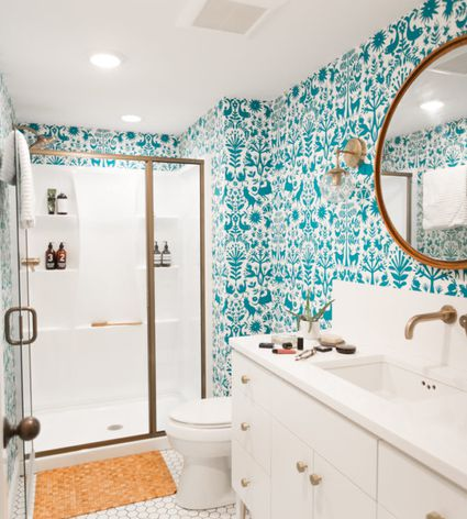 Ideas for bathroom remodel in pictures for Bathroom designs 8 x 15