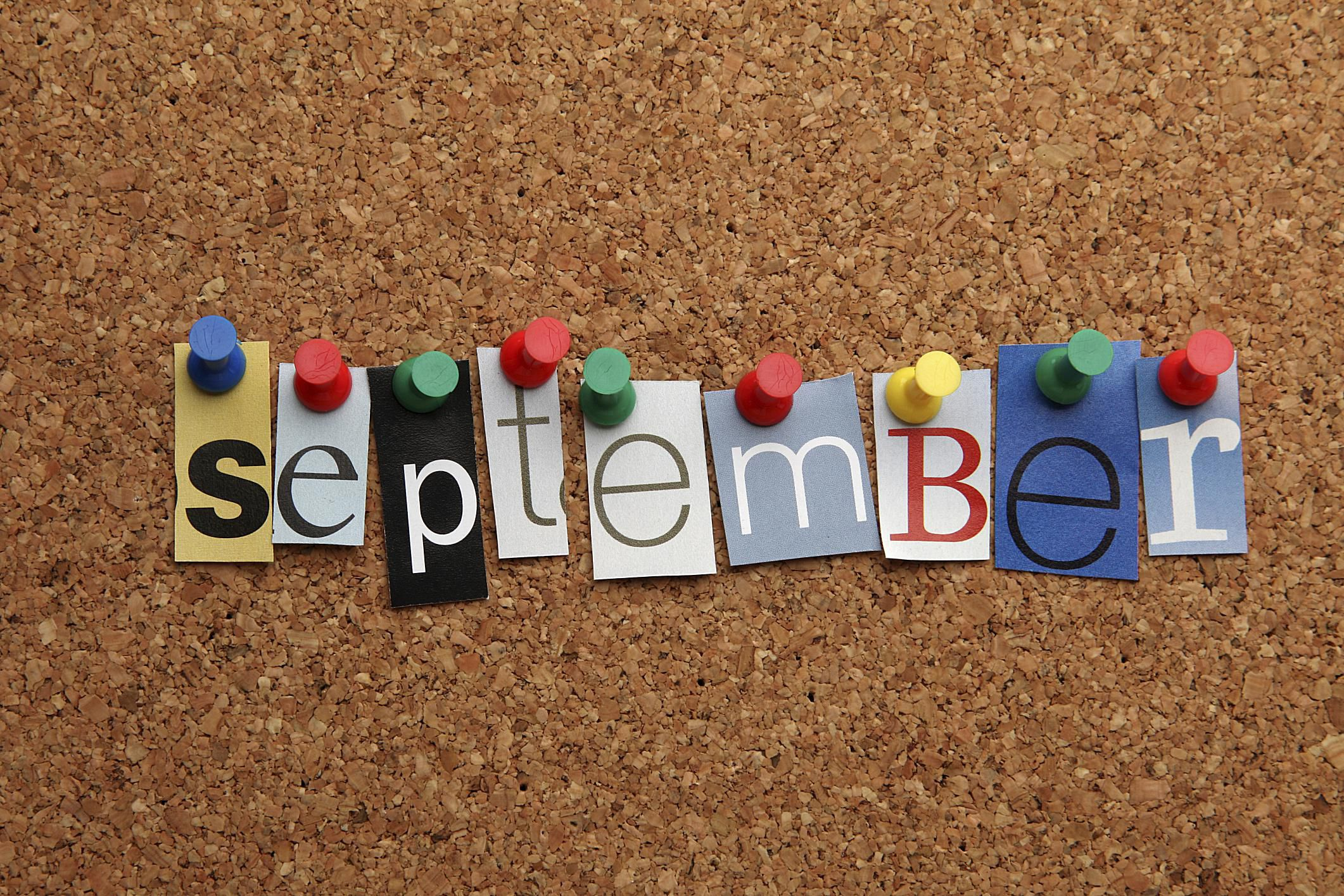 September Themes, Holidays, and Special Events