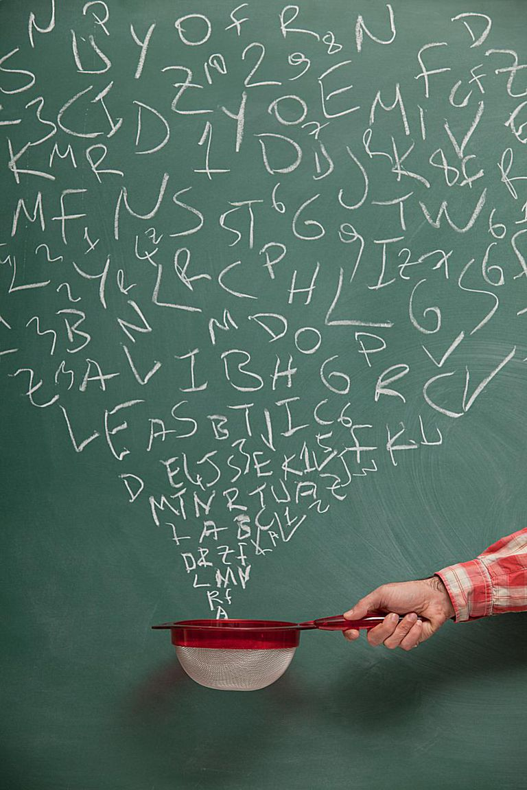 Words on Blackboard