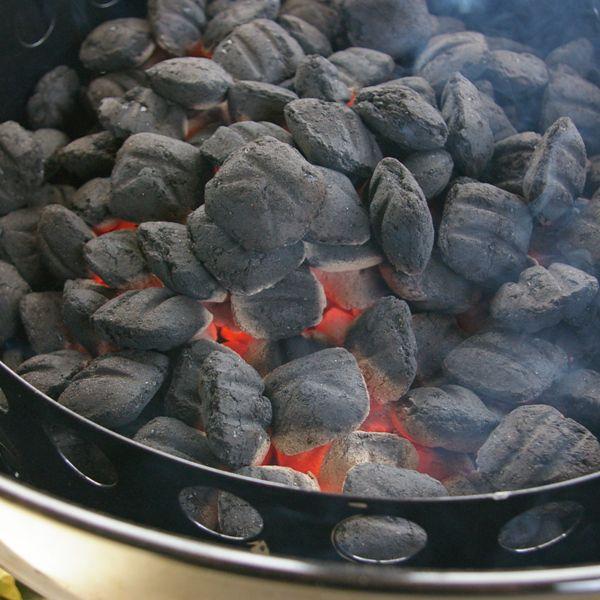 Preparing Fire - Smoking Turkey