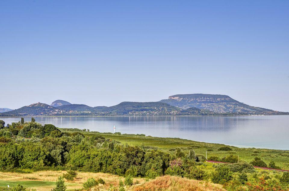 Lake Balaton View
