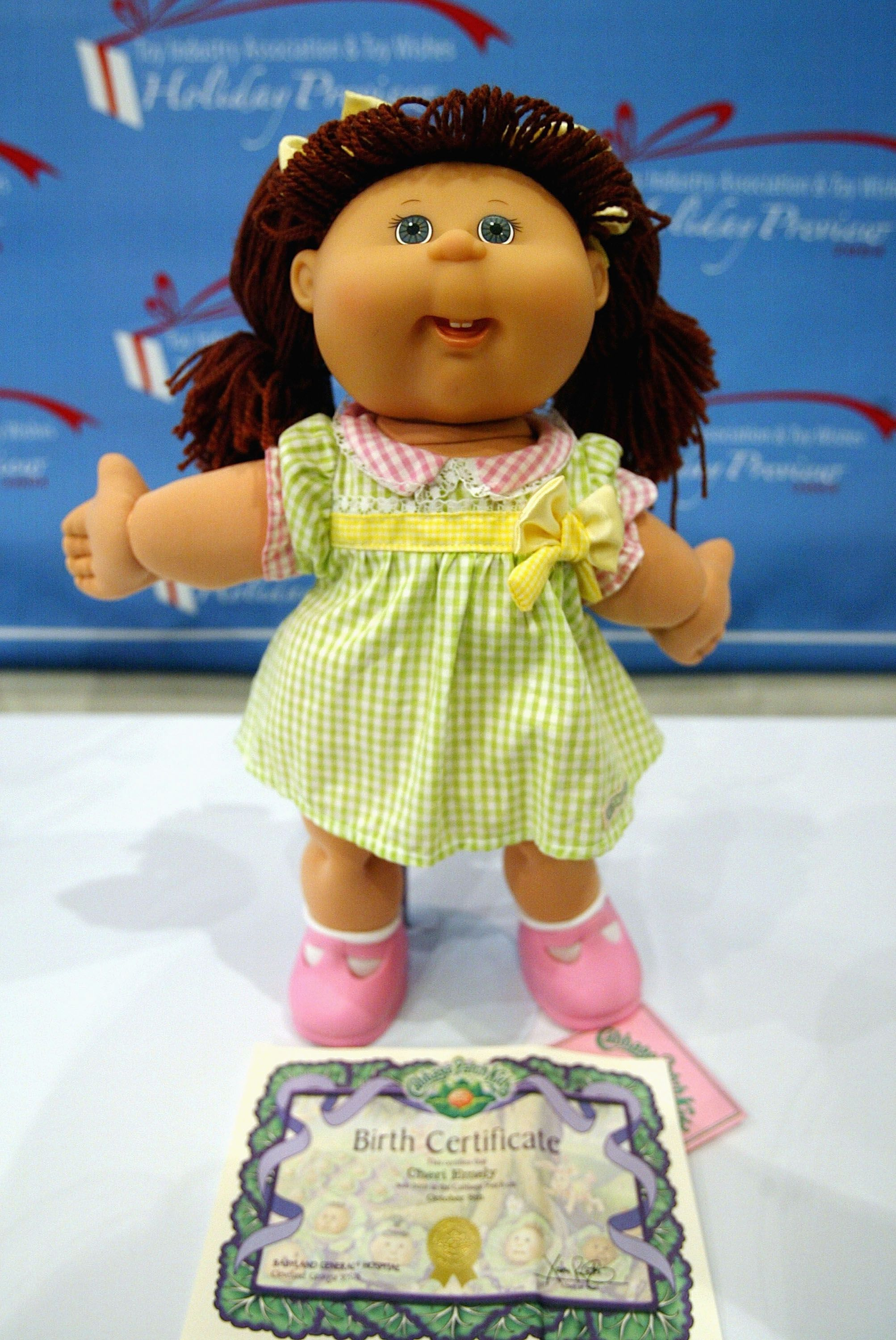 The History Of The Cabbage Patch Kids Dolls