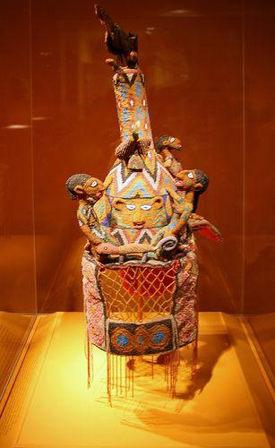 Yoruba Crown Representing Ile-Ife Leader Oduduwa