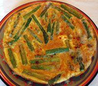 Revuelto de Esparragos Trigueros - Scrambled Eggs with Wild Asparagus