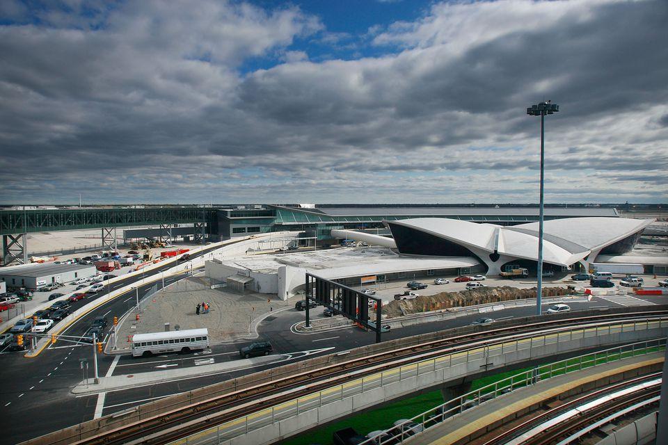 A Beautiful Airport Terminal