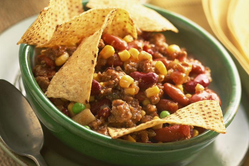 Colorful Taco Chili