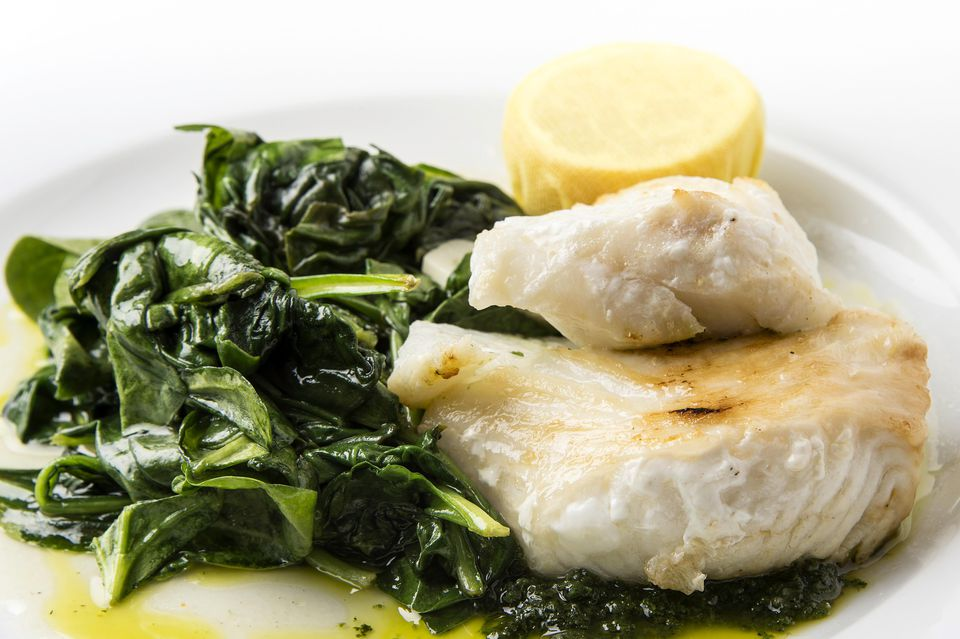 Bass and Spinach