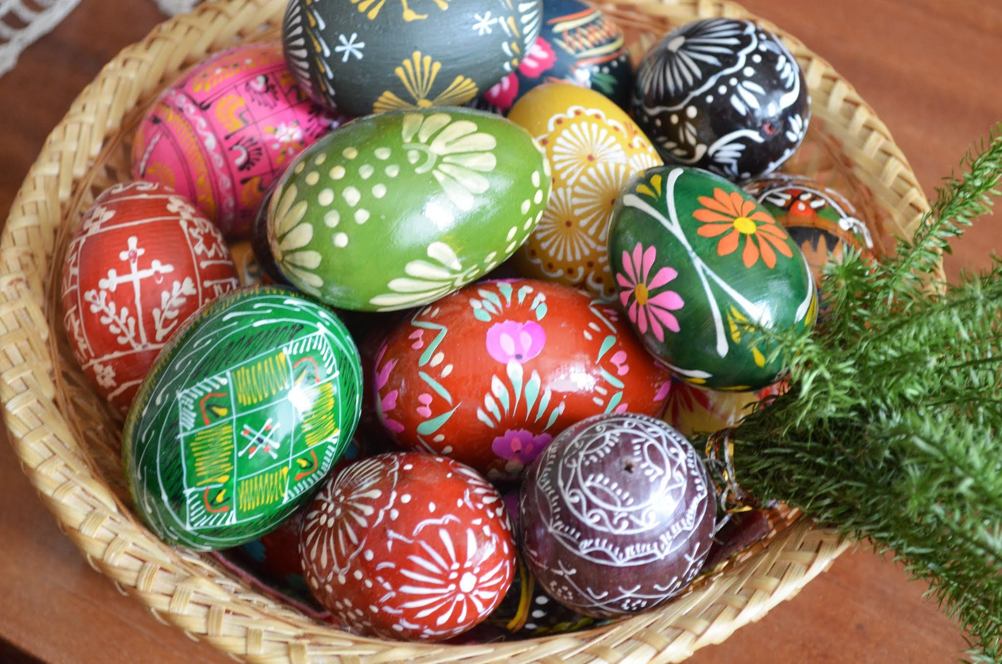 Marguciai Lithuanian Easter Eggs