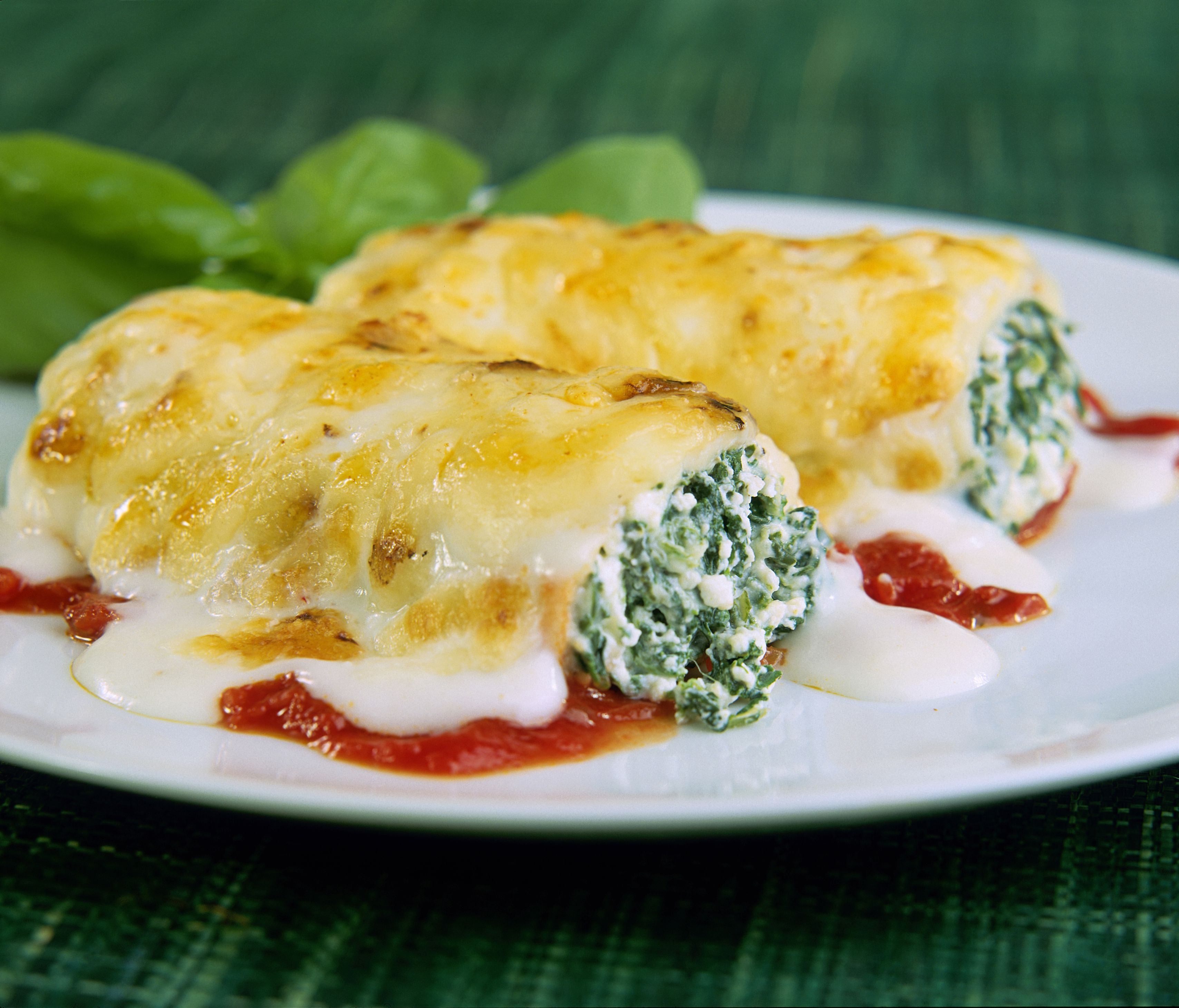 Spinach and Ricotta Ca...