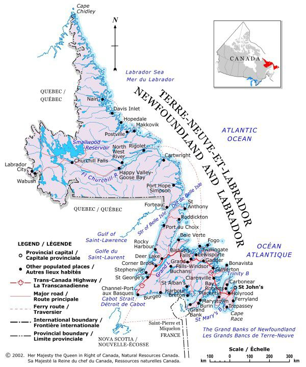 Newfoundland and Labrador at a Glance