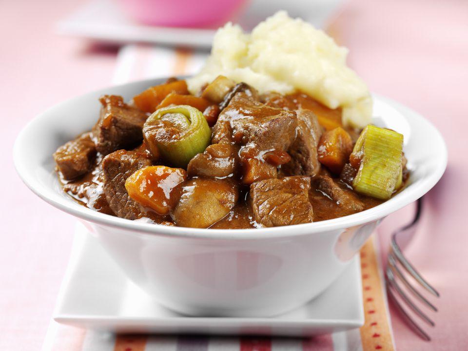 Beef and Leek Stew