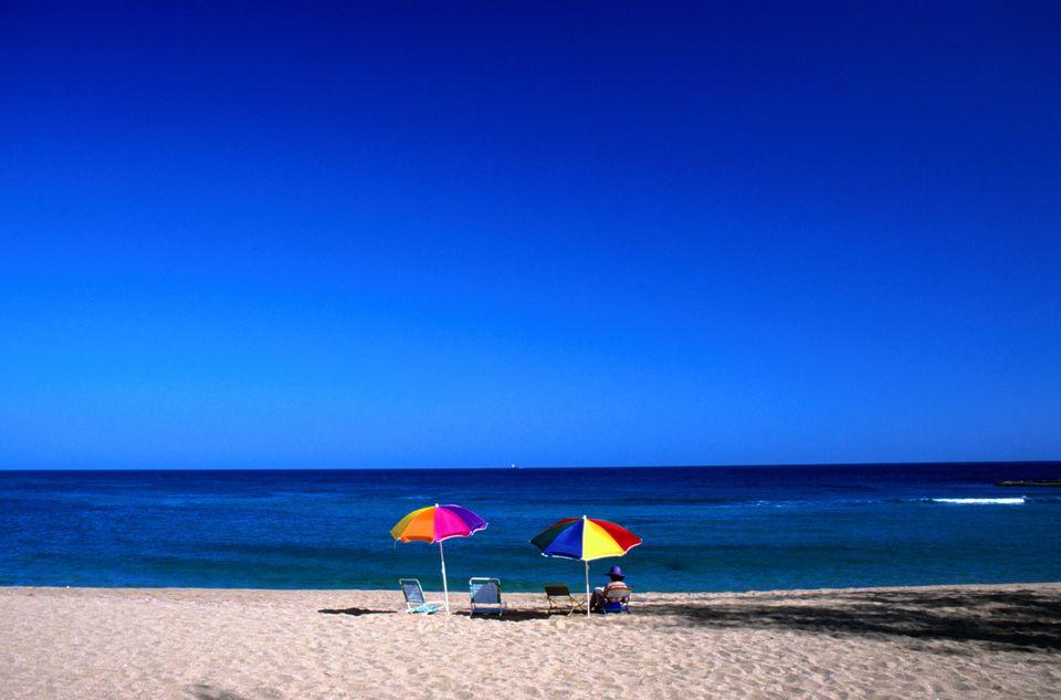 Montones Beach in Isabela, Puerto Rico