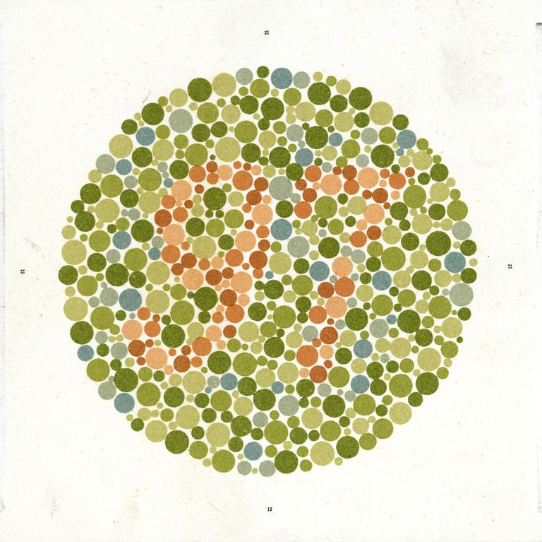 An Ishihara Chart for testing color-blindness