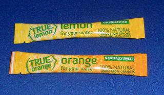 True Lemon and True Orange Packets for your water