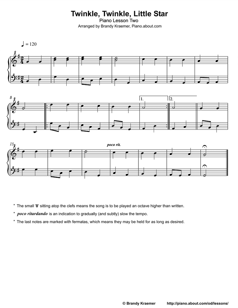 Piano beginning piano sheet music : Beginner Piano Lesson Book