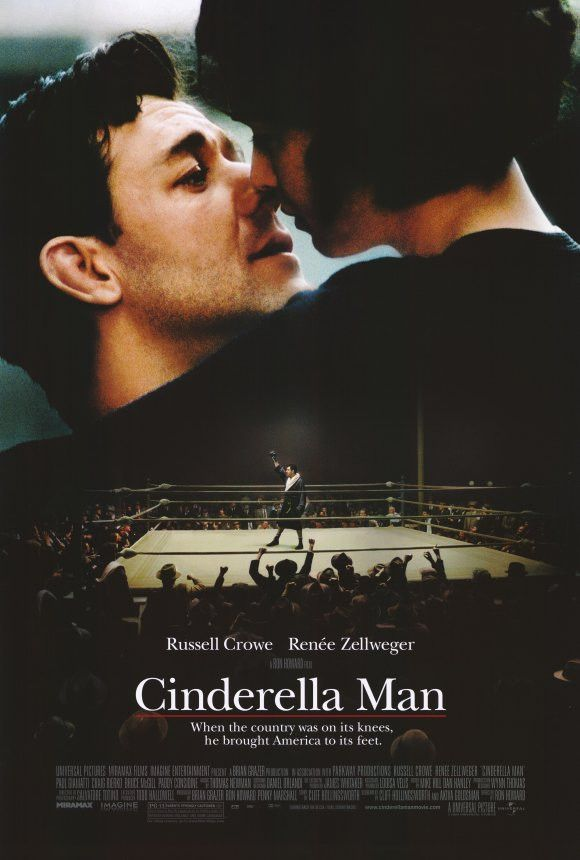 the life and struggles of boxing champion james braddock in the film cinderella man Cinderella man is a 2005 american biographical sports drama film by ron howard, titled after the nickname of world heavyweight boxing champion james j braddock and inspired by his life story the film was produced by howard, penny marshall, and brian grazer damon runyon is credited for giving braddock this.