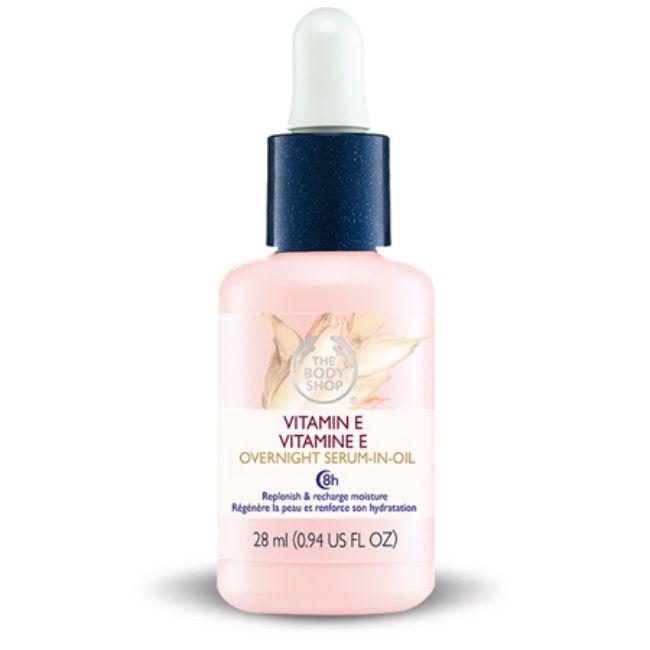 Vitamin E overnight serum from The Body Shop