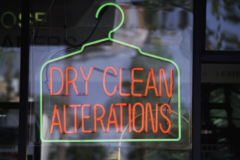 Dry Cleaning Neon Sign