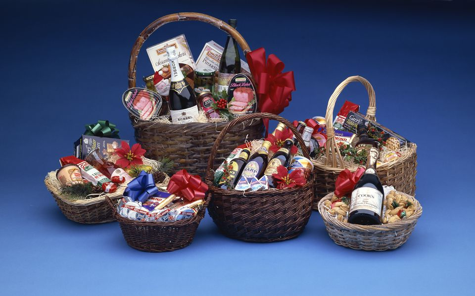 Gift baskets.