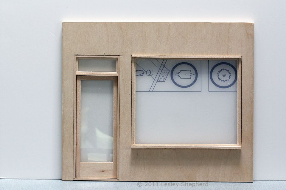 Diy dollhouse parts including working windows and doors for Window models for house photos