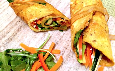 Refreshing Veggie-Stuffed Spring Rolls Recipe recommendations