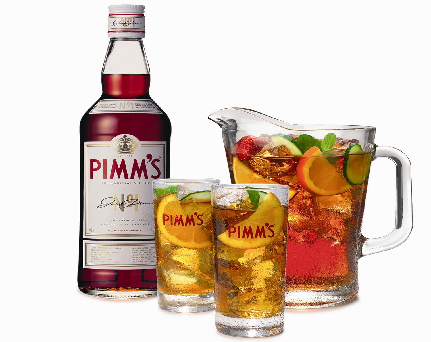 A Foolproof Traditional Pimms Cup Recipe