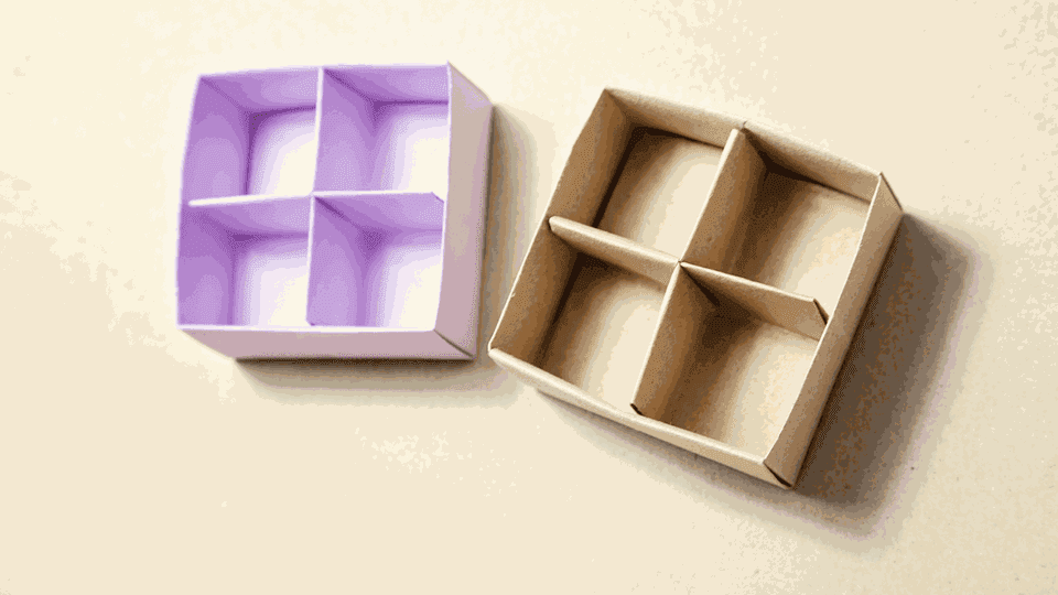 Origami Masu Box Divider