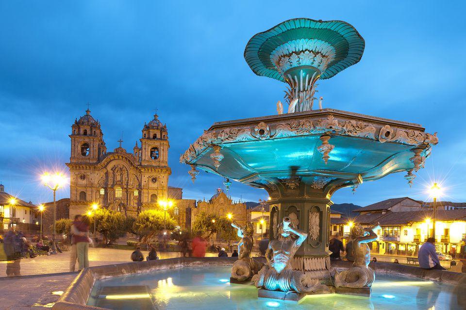 Cusco, Peru, Plaza de Armas