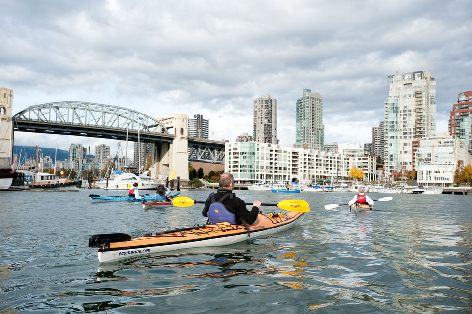 Kayaking in Vancouver