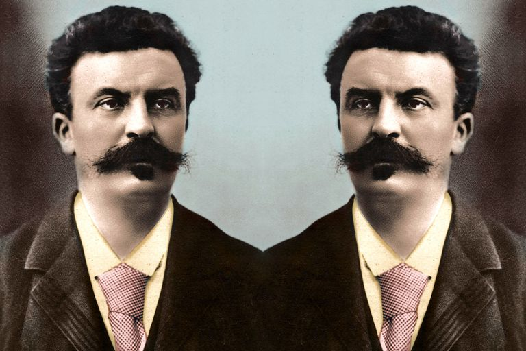 French author Guy de Maupassant encountered his own double.