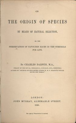 "Darwin's most famous book made him the ""Father of Evolution"""