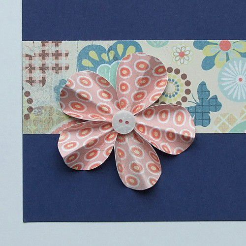 How to make flowers for scrapbooking and cards flowers made from circles mightylinksfo