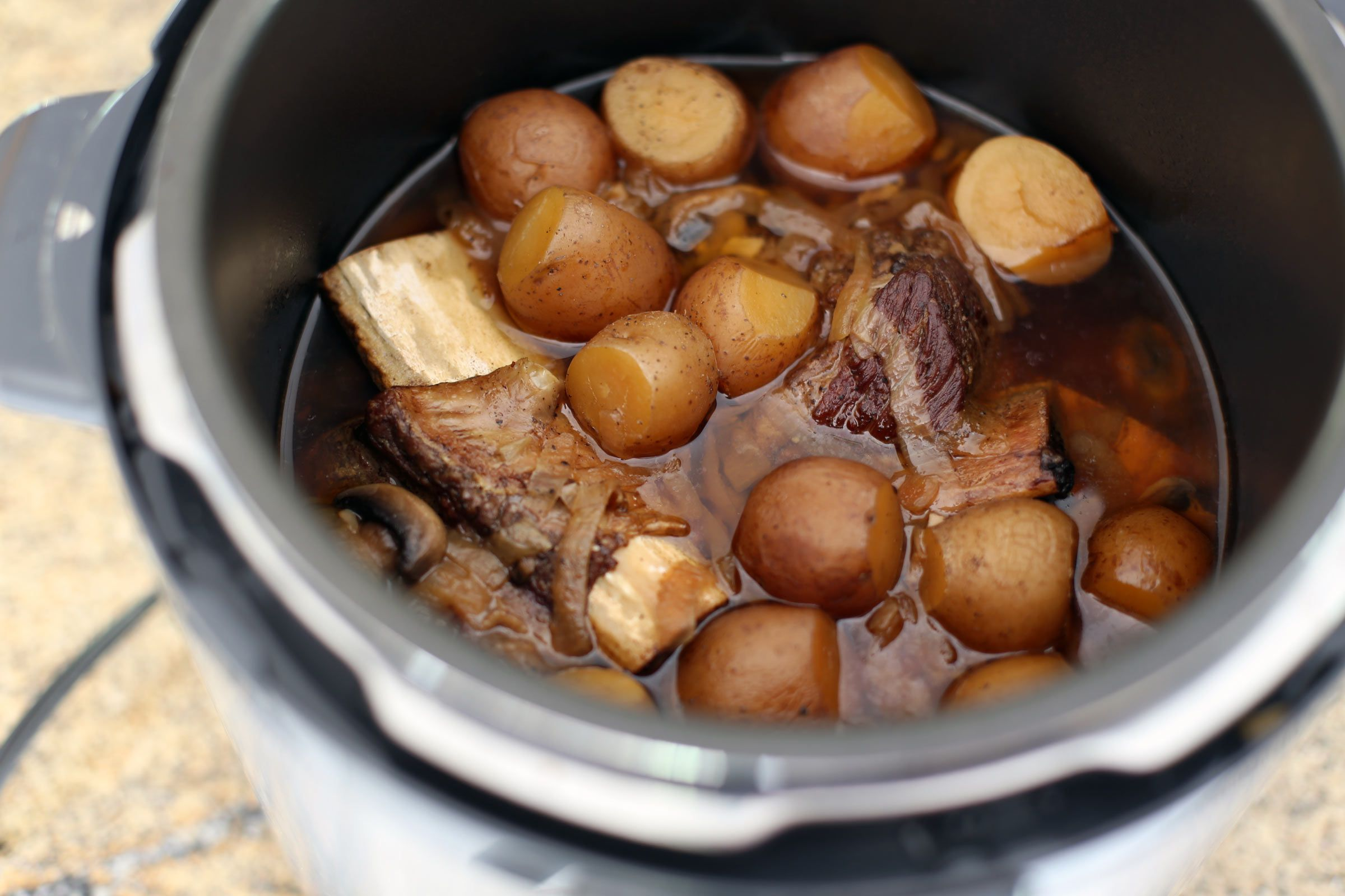 Pressure cooker short ribs for Electric pressure cooker fish recipes