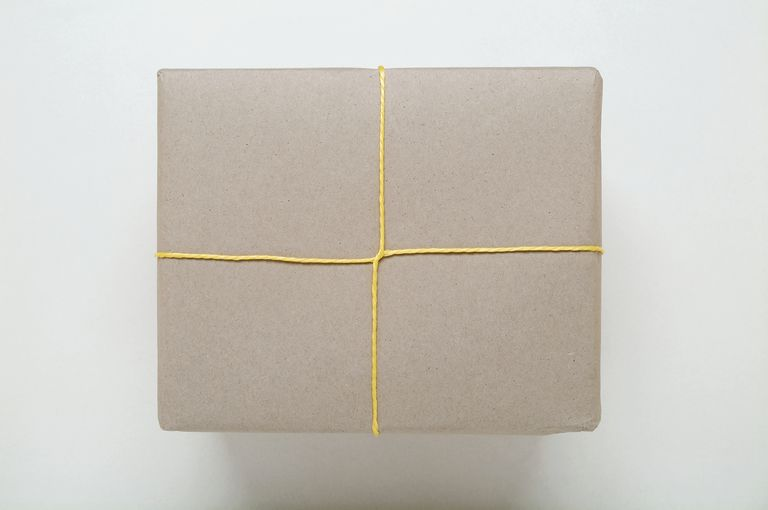 Care package with string