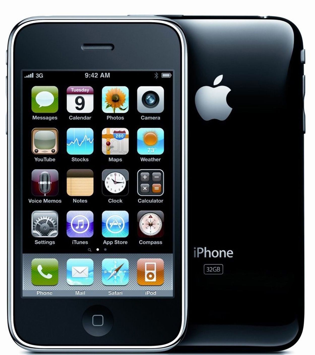 iPhone 3G Hardware and Software Features  iPhone 3G Hardw...