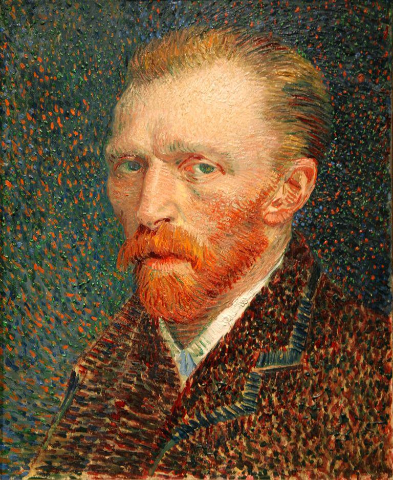 self-portrait of Van Gogh