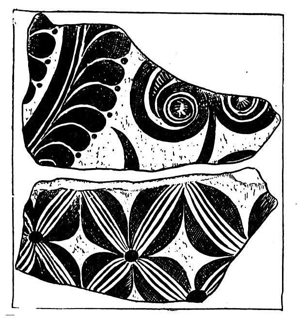 Mycenaean Pottery Sherds