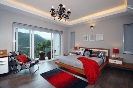 Interior Red And Gray Bedroom Ideas red bedroom ideas great tips and advice how to use with grey