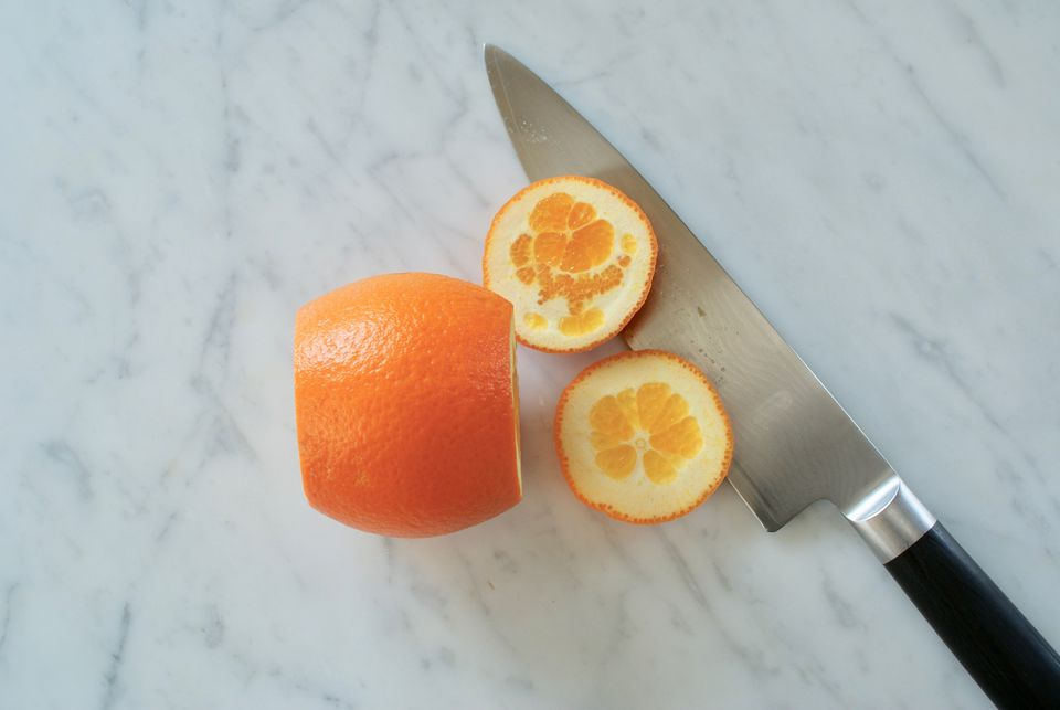 Citrus Supremes Step One