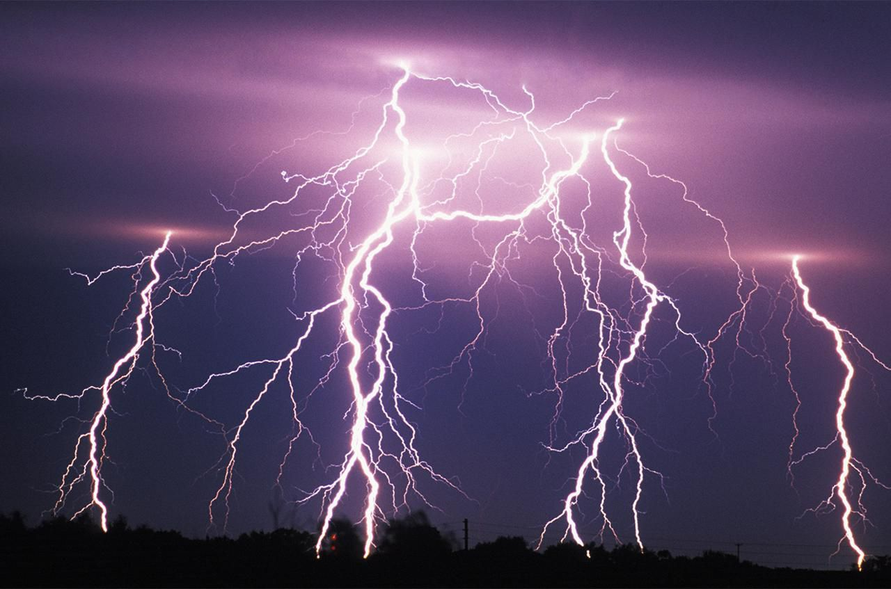 The Dangers of LightningDry Thunderstorms Their Causes and Dangers. Red Alert Lightning Storm. Home Design Ideas