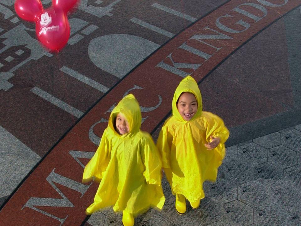 Rainy Day Plans at Disney World